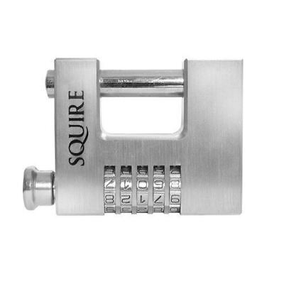 Squire Cbw85 Recodable Shutter Combination Lock Security Padlock