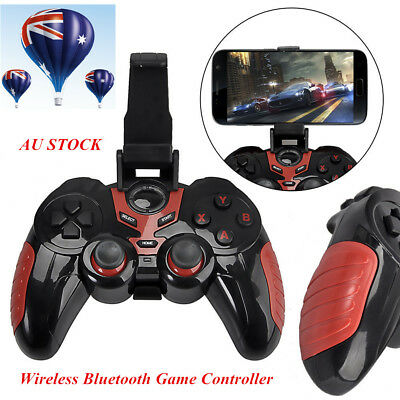Bluetooth Game Pad Gaming Controller Wireless GamePad for iPhone/iPad Android AU