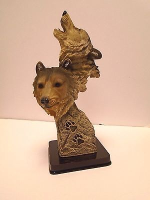 "Wolves  Figurine * 8"" Tall"