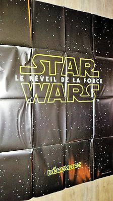 STAR WARS le reveil de la force ! affiche cinema preventive