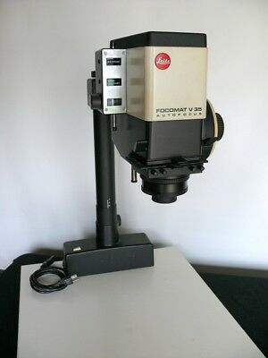 Leitz Focomat V 35 enlarger  w/lens, w/variable contrast head for B&W printing.