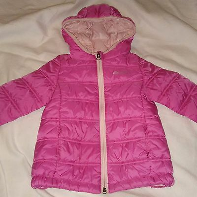 Toddler Girl's Eddie Bauer Pink quilted jacket - size 3T