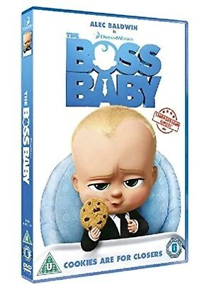 The Boss Baby [DVD] Brand new sealed Uk version(2017)