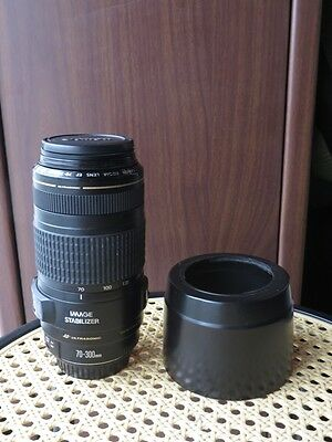 CANON 70-300mm F/4-5.6 IS USM