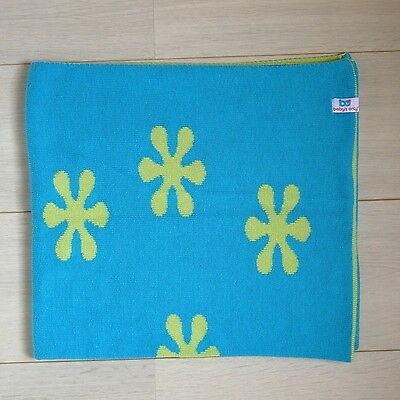 Baby's only - couverture réversible - vert/turquoise