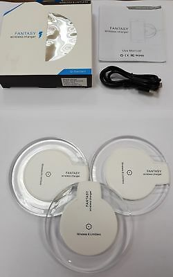 Qi Wireless Charger (Fantasy),Induktive Ladestation,Samsung S7/S8, Iphone 8/X