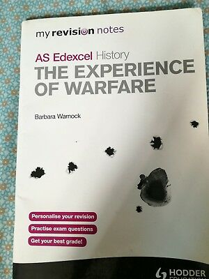 AS Edexcel History, The Experience of Warfare, warnock, Hodder Education