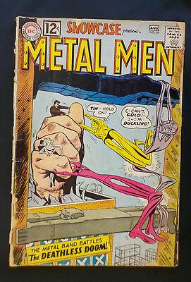 Showcase #39 ! DC 1962 ! METAL MEN 3rd APPEARANCE ! hayfamzone