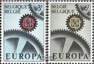 Belgium 1472-1473 (complete.issue.) unmounted mint / never hinged 1967 Europe