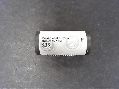 2016 P Richard Nixon President Dollar Coin US Mint Sealed Roll - Free Ship
