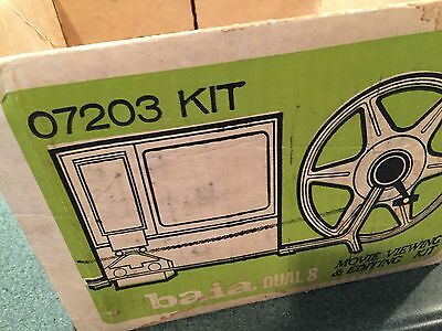 Dual 8 Movie Viewing and Editing Kit by Baia (Model 07203 KIT)