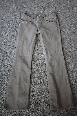 old navy maternity low rise stretch fall cords M long