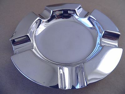 Victorian Large Sterling Silver Ash Tray London 1897, W Comyns