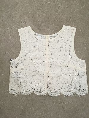 BHLDN - Cleo Ivory Top - Size S - New