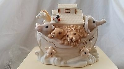 Lenox Noah's Ark Baby Animal Decorative Coin Bank Mint Condition New in Box!