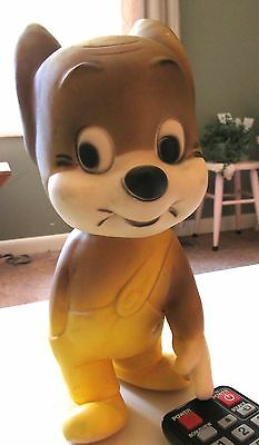 Vintage JERRY Large Rubber Mouse Toy Tom & Jerry Cartoon Character