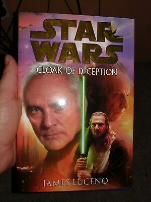 Star Wars: Cloak of Deception by James Luceno (2001, Hardcover)
