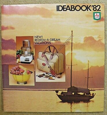 S & H Green Stamps Ideabook Illustrated Catalog 1982