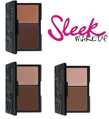 Sleek Makeup Face Contour Kit matte pressed powder and illuminating highlighter