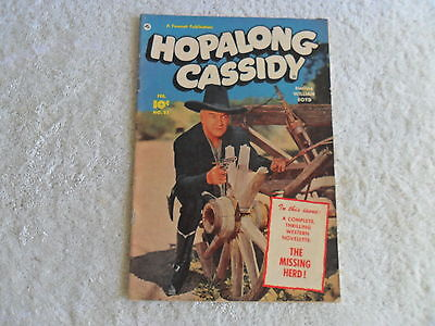 1951 Hopalong Cassidy Comic Book #52 In Vg-Ex Cond