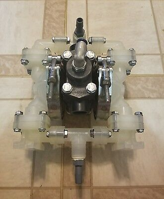 "Sandpiper PB1/4.TS3PP Air Operated Double Diaphragm Pump 1/4"" or 1/2 NPT 100PSI"