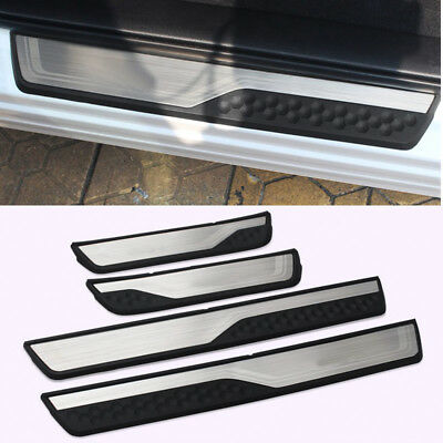 Stainless Steel door sill trim guard protectors For 2017 2018 Honda CRV CR-V
