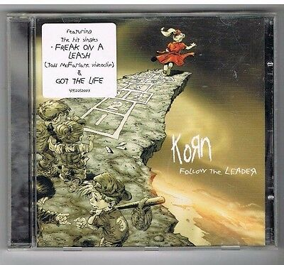 CD - KORN - FOLLOW THE LEADER - austrian Press
