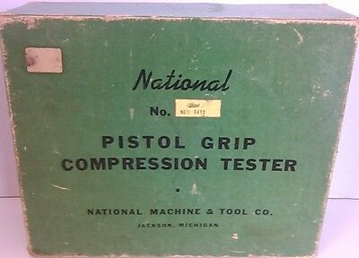 Compression Tester~Pistol Grip~National No. 9412~National Machine & Tool Co.