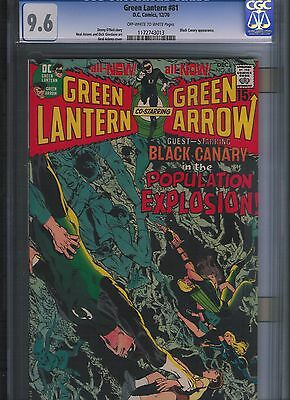 Green Lantern # 81 CGC 9.6  Off White to White Pages. UnRestored.