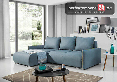 schlafcouch bettkasten l form wohnlandschaft ecke mobiliar sofa pm foriii05 eur 979 31 picclick de. Black Bedroom Furniture Sets. Home Design Ideas