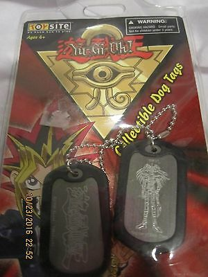 Yu-Gi-Oh Magician Of Black Chaos Collectible Dog Tags New Sealed In Original Pk