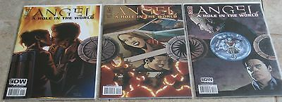 Angel A Hole in the World #1 2 3 IDW Publishing Buffy Spin-Off
