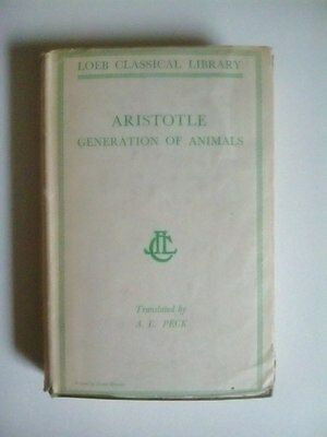 Aristotle   Generation of Animals by A.L.Peck