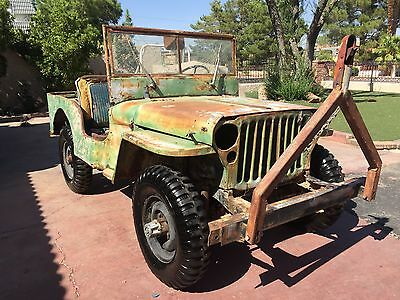 1942 Willys  1942 willys mb ford