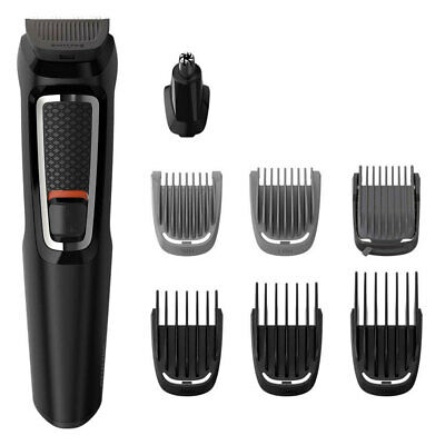 Philips MG3730 Multigroom Series 3000 8 in 1 Trimmer/Clippers Face Hair Grooming
