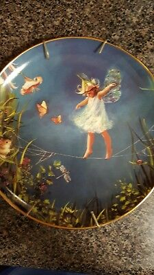 """The Danbury Mint- The Enchanted Garden """"Balancing Act"""" by Mary Baxter St. Clair"""