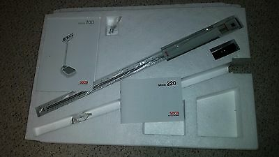 SECA 220 Telescopic Height Measuring Rod for SECA Column Scales, Made in Germany