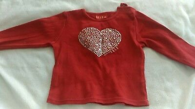 Elle. baby girl long sleeve top size 6 months / 0. Perfect condition