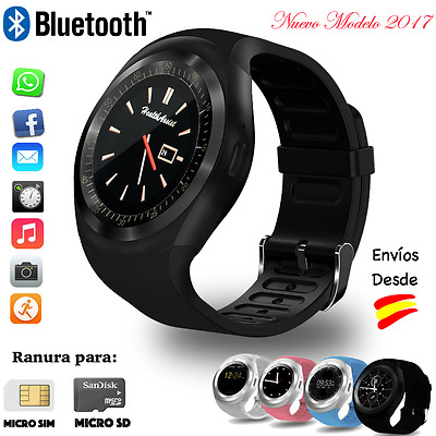 Reloj Inteligente Bluetooth SmartWatch para Android, iPhone, Samsung, Huawei, LG