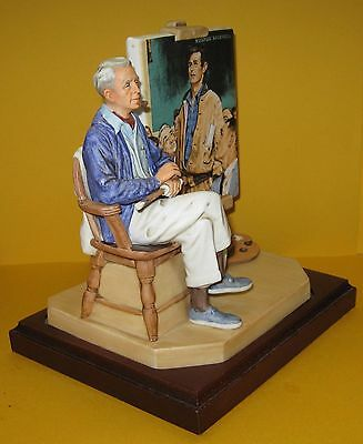 Hard to Find Vtg Norman Rockwell Museum The Spirit of America Figurine LE #47