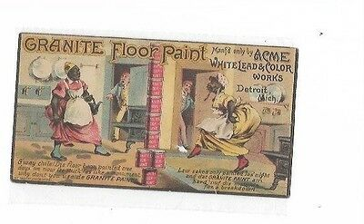 """""""Granite Floor Paint by Acme White lead and Color works"""", Alf. R. Kelly San Fran"""