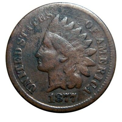 Indian head cent/penny 1877 circulated key date