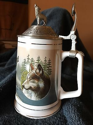 LONGTON CROWN STEIN #1 in TIMBER WOLF SERIES!! KEVIN DANIEL'S *CALL OF THE WILD*