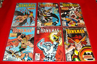 Vintage 1986-87 DC Copper Age Hawkman Comic Books #1-13 #15 +3 more High Grade