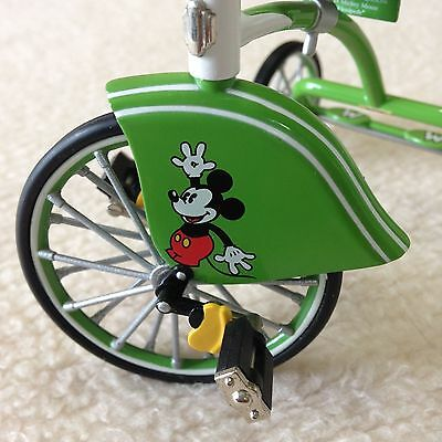 1934 Mickey Mouse Velocipede (Tricycle) Hallmark  Sidewalk Cruisers Collection