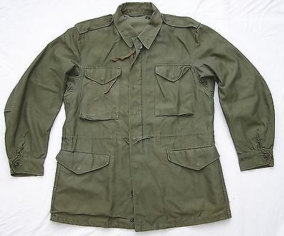 Original Us Army M-1951 M51 Field Jacket Size Med Long