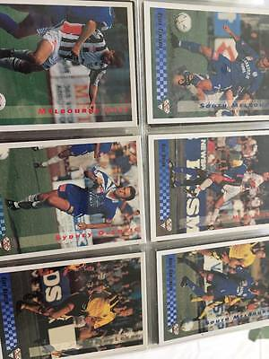 National Soccer League Trading Cards 1994