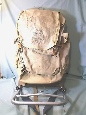 Vintage BSA Boy Scouts of America Canvas Backpack Model 1307D with Cruiser frame