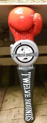New: Twelve Rounds Brewing Tap Handle - Boxing Beer Brew (matching shirts avail)