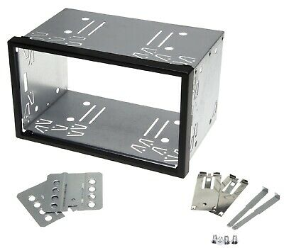 Diaphragme Autoradio Support Fente Cadre 100mm Double Din Iso Universal Métal